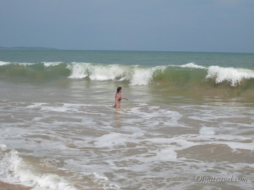 Настоящий океан в Тангале, Шри-Ланка