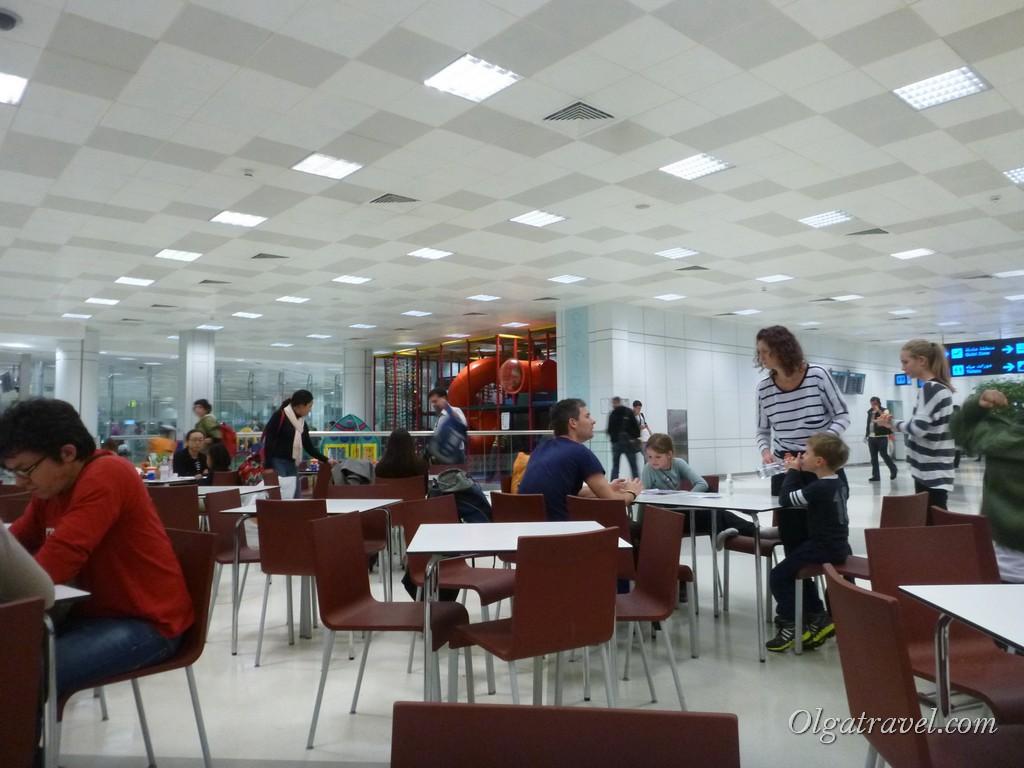 Столовая в Дохе