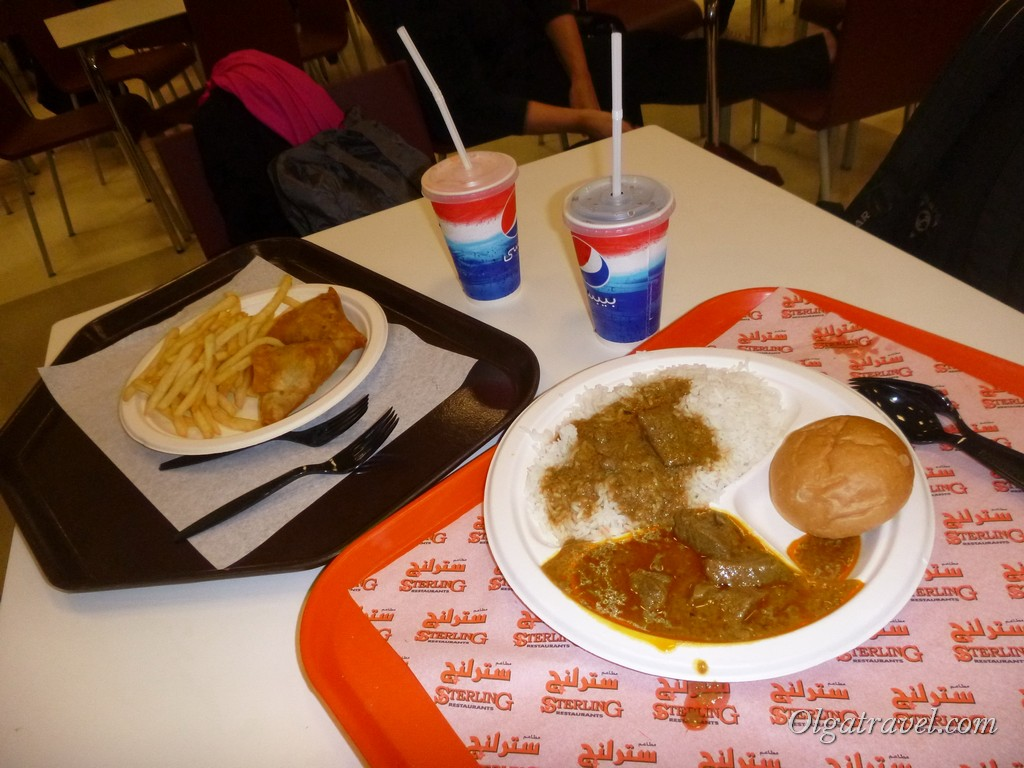 Бесплатная еда в Дохе:)