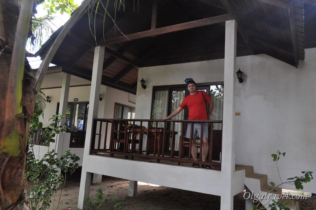 Наш домик в отеле Marina Beach Resort