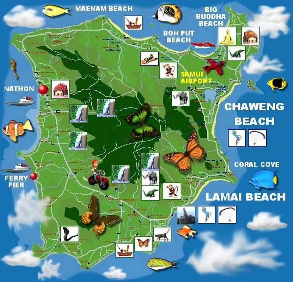 Карту Таиланда Навител