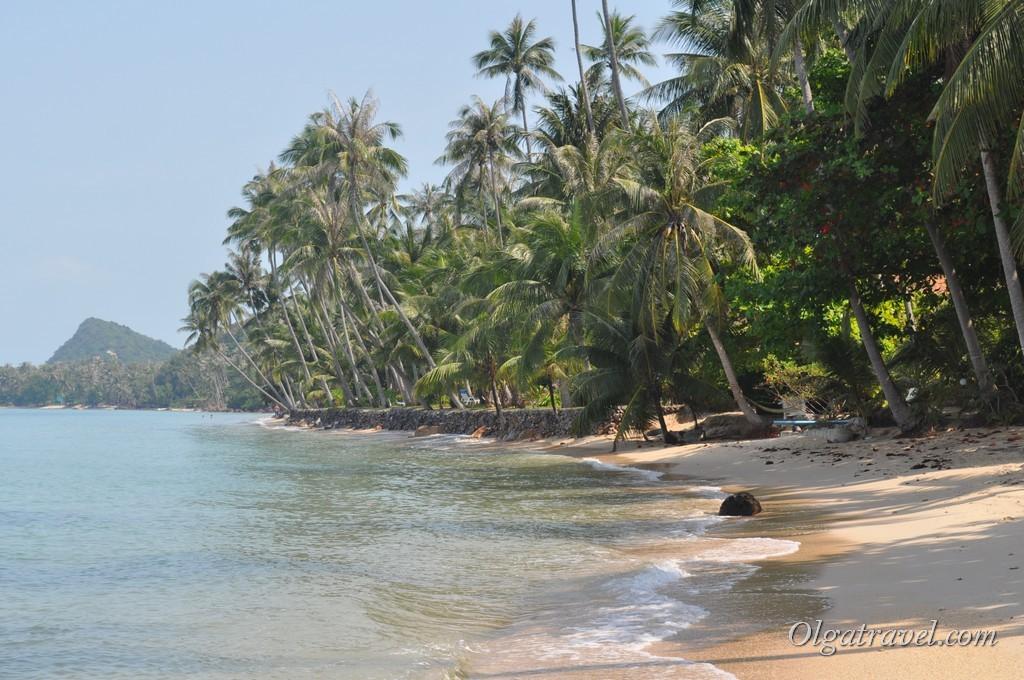 Пляж Банг По возле дорогих вил