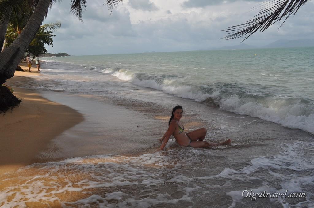 Пляж Маенам 31 декабря 2012 года