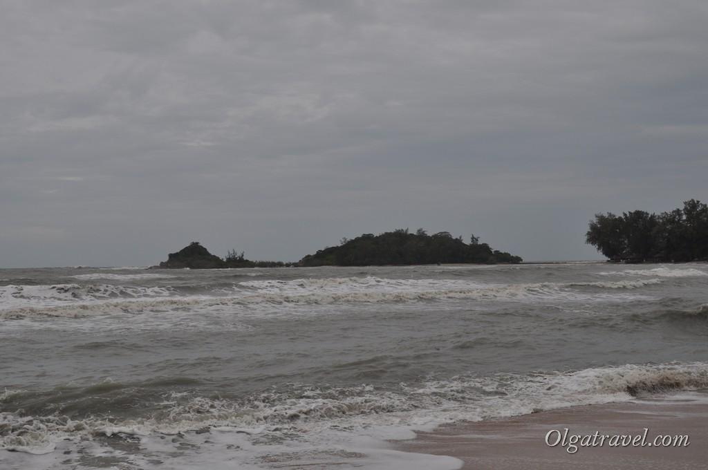 Пляж Чонг Мон в конце декабря 2012