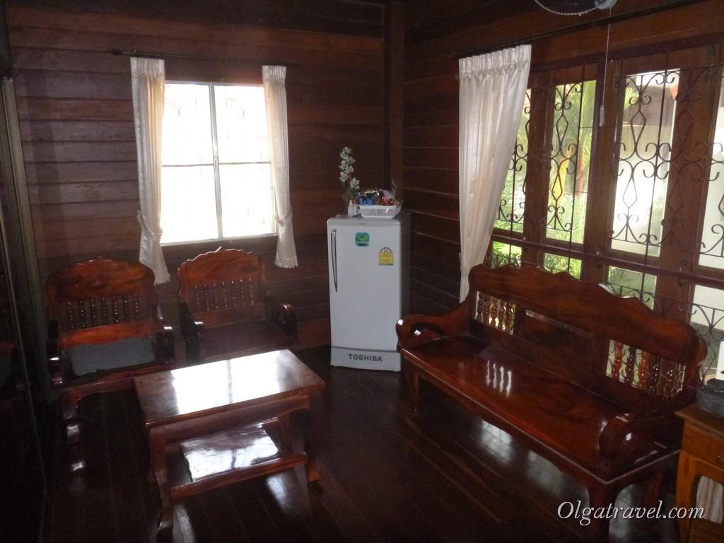 Maraden Resort, гостинная