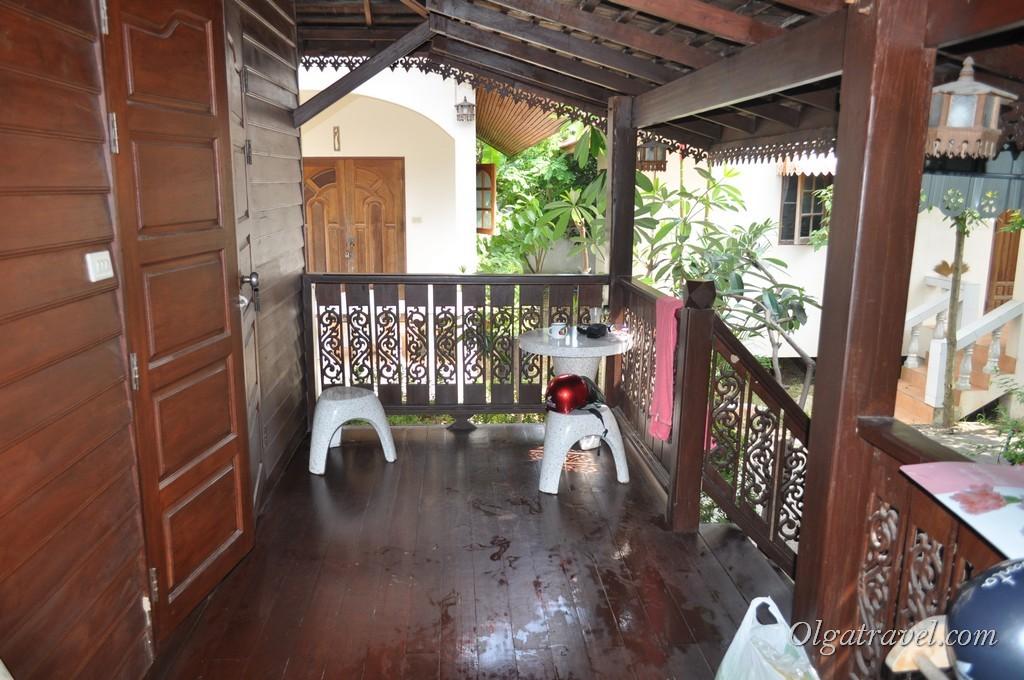 Maraden Resort, веранда