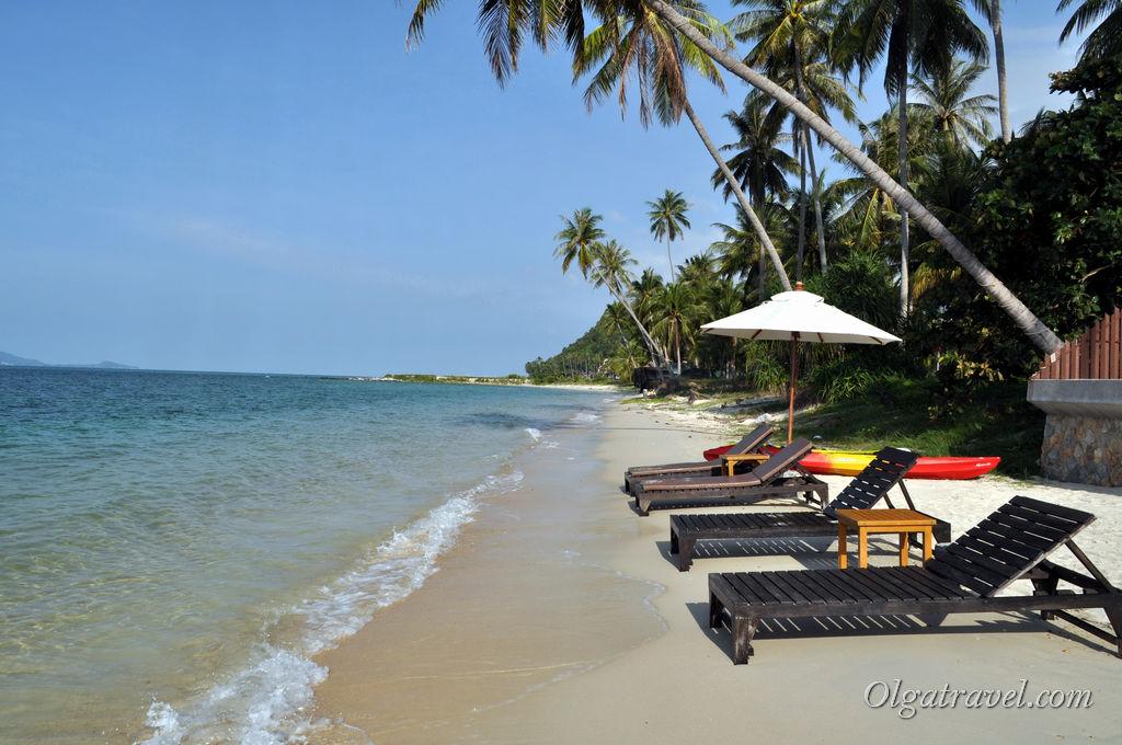 Бан Тай Самуи пляж