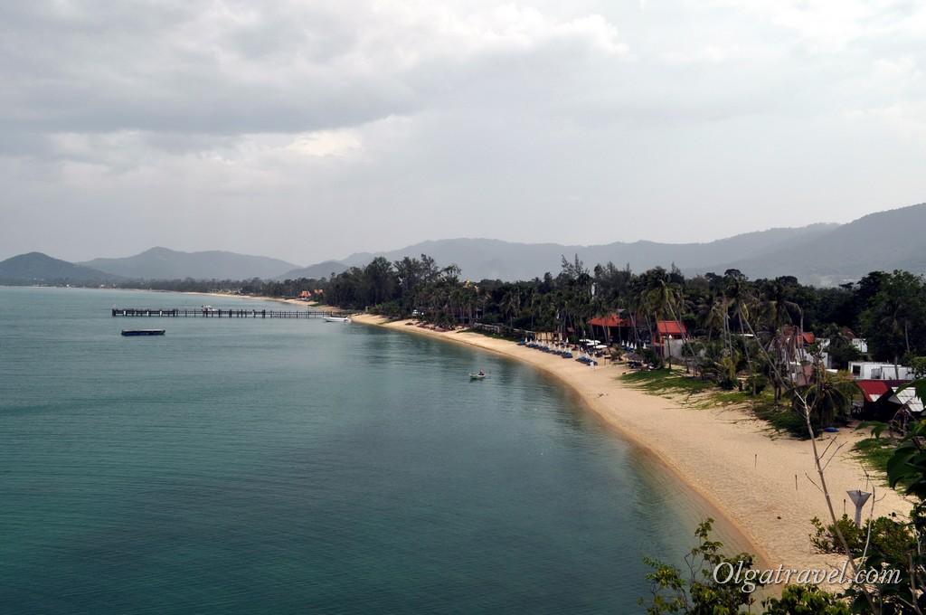 пляж Маенам Самуи