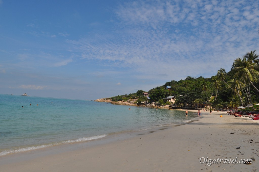 На пляже Тонгсон Бэй народа не много