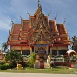Храм Плай Лем (Wat Plai Leam) на Самуи