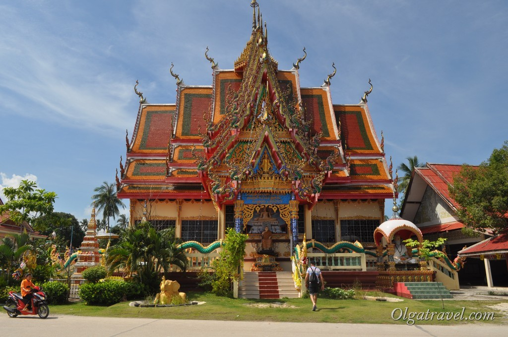 Wat Plai Leam, Самуи