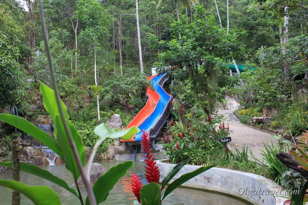 Мини аквапарк возле водопада Намуанг 2, Самуи