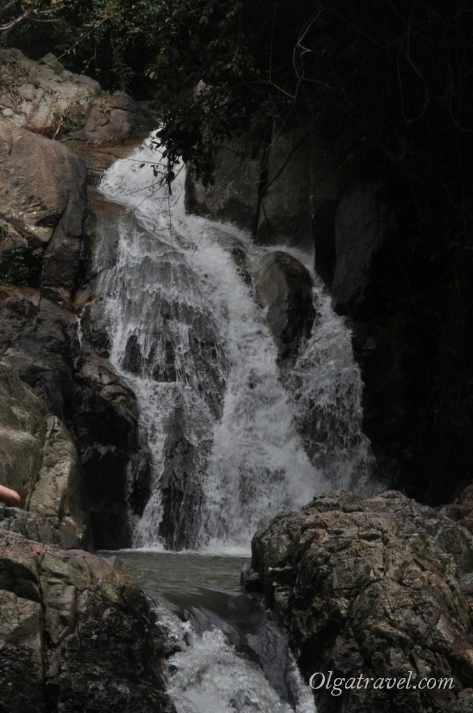 Вторая ступень водопада Намуан 2