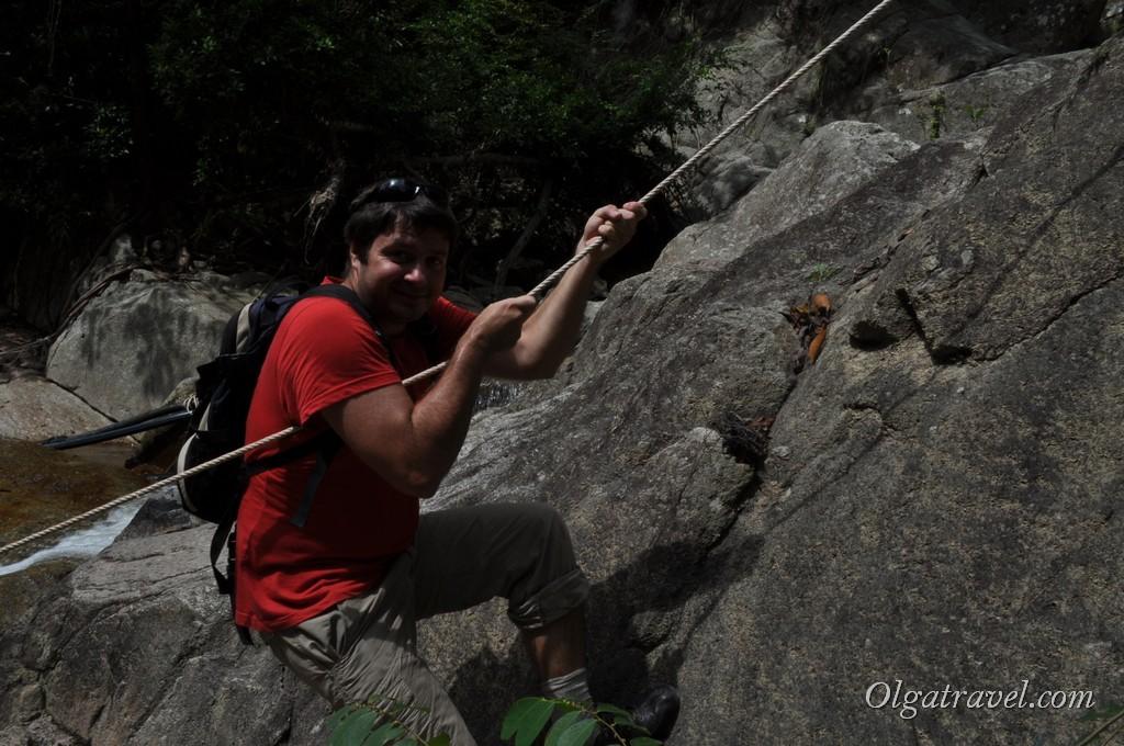 Вверх к водопаду Намуанг 2