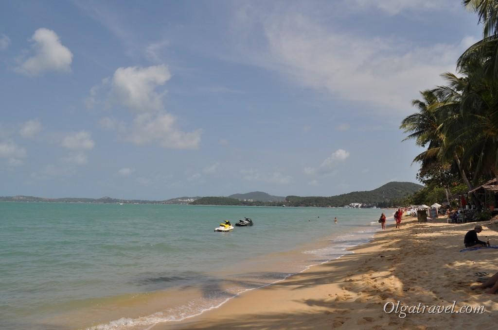 Наше любимое место на пляже Бопут