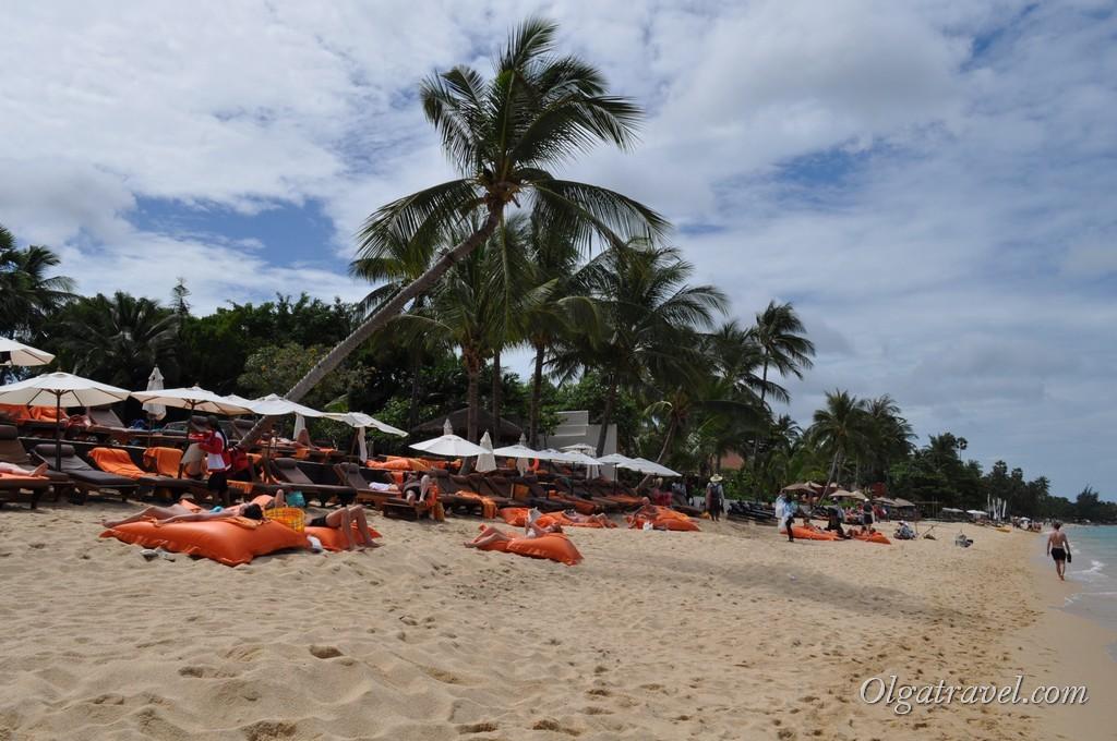 Дорогие отели на пляже Бопут