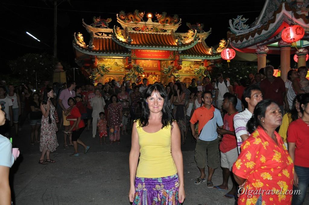 Китайский Новый год в Таиланде наступил. Ура!