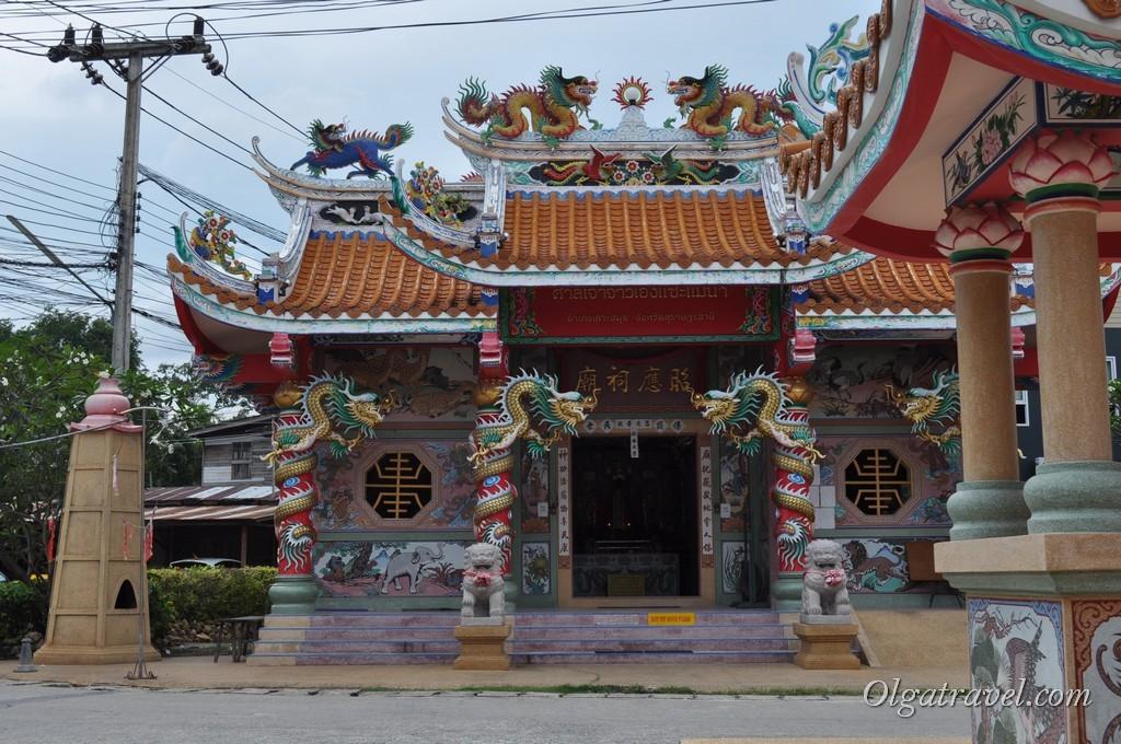 Китайский храм на Маенаме