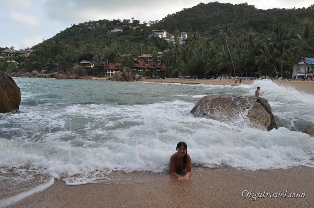 Наслаждаюсь морем на пляже Корал Ков