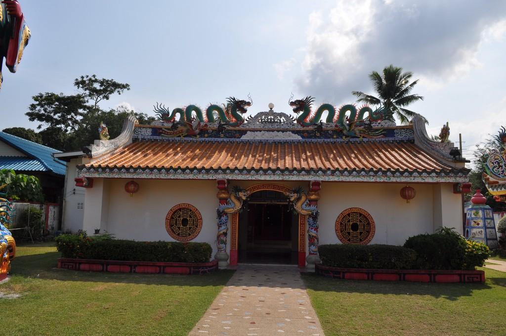 Китайский храм, Натон