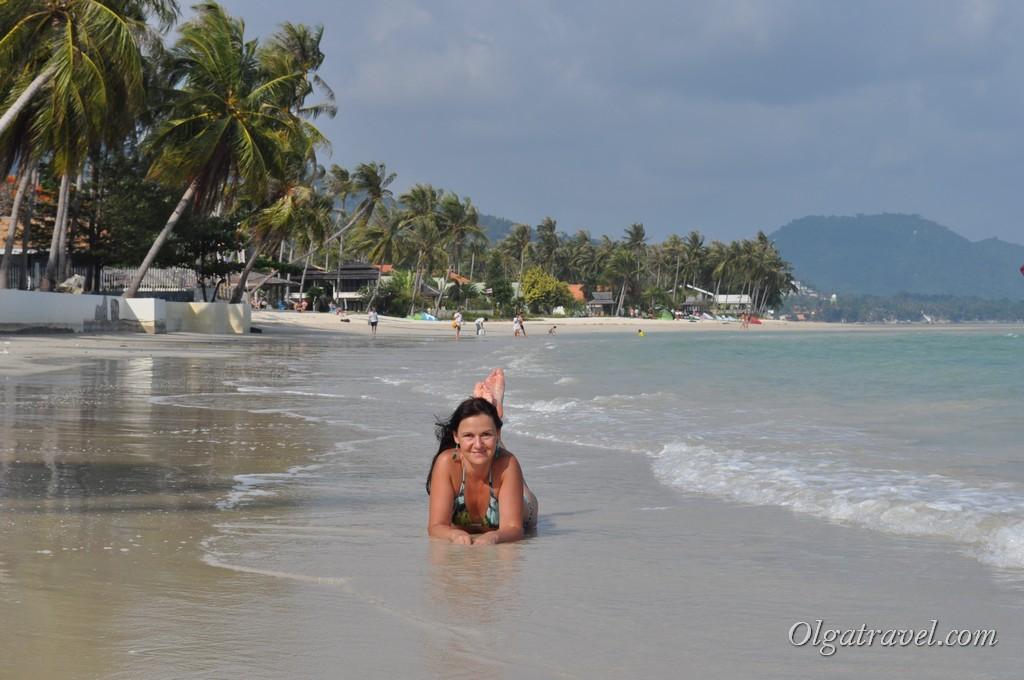 Пляж возле отеля Орхид ресорт (Orchid Beach)