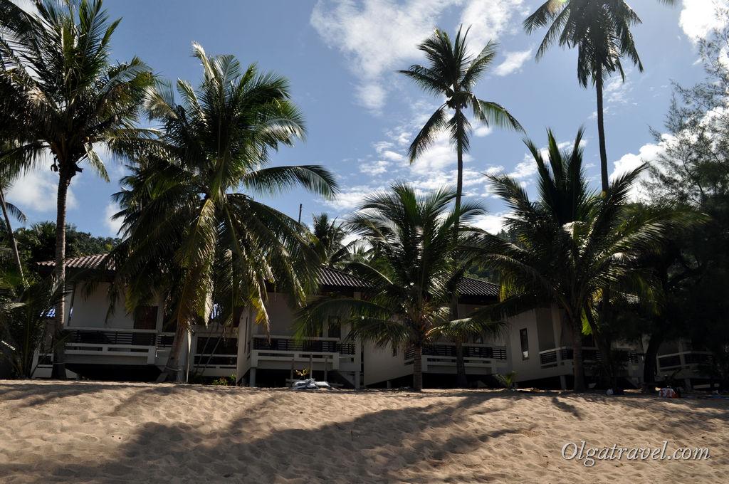 Недорогие домики прямо на пляже