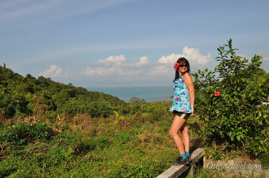 Смотровая площадка (Wiev point) между пляжем Банг По и Натоном