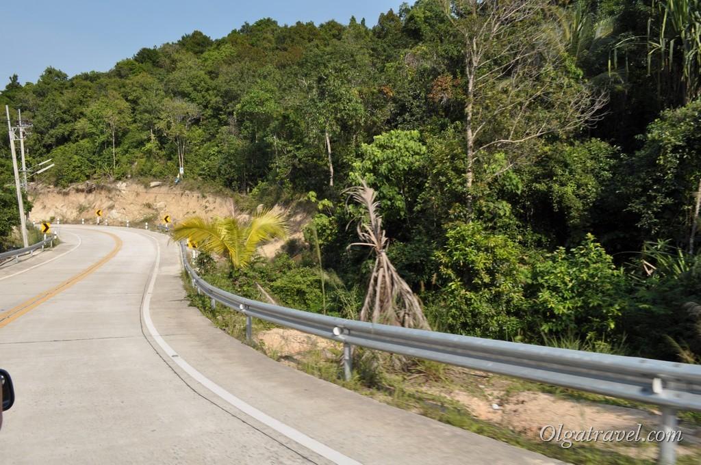 Горные дороги Пангана