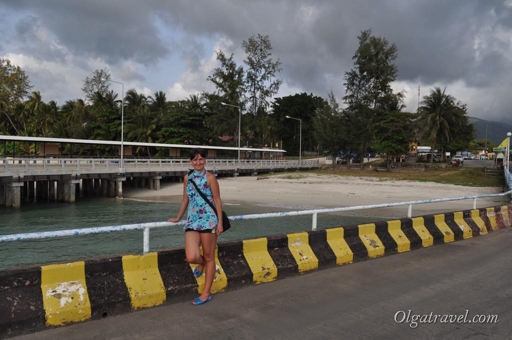 На причале Raja Ferry