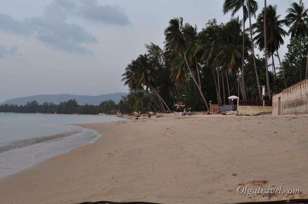 Пляж Липа Ной (Lipa Noi) возле отеля Никки Бич