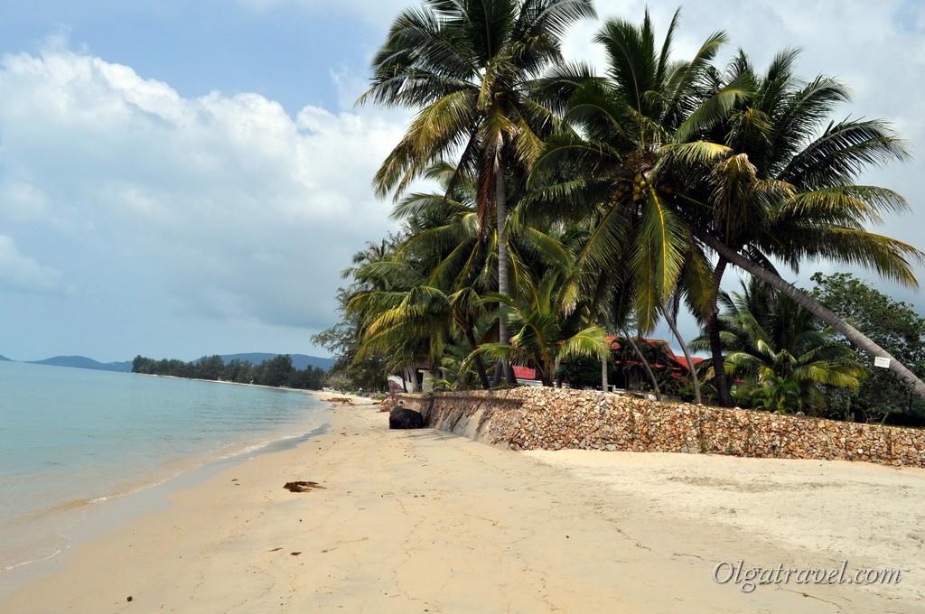 Пляж в феврале