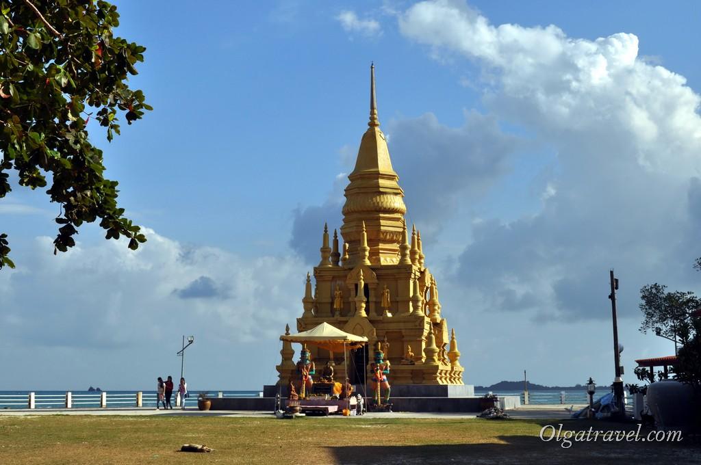 Пагода Лаем Сор на юге Самуи