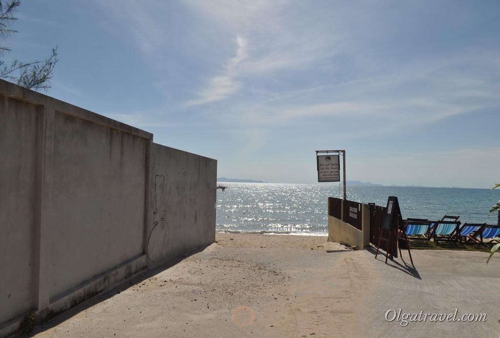 Самуи пляж Липа Ной