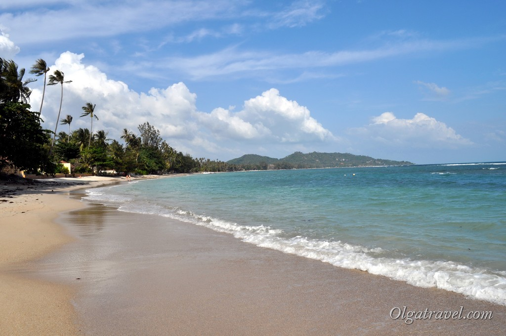 пляж Bang Kao