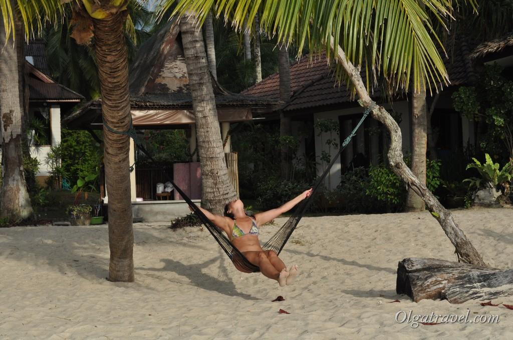 Наслаждаюсь жизнью возле отеля Am Samui Resort:)
