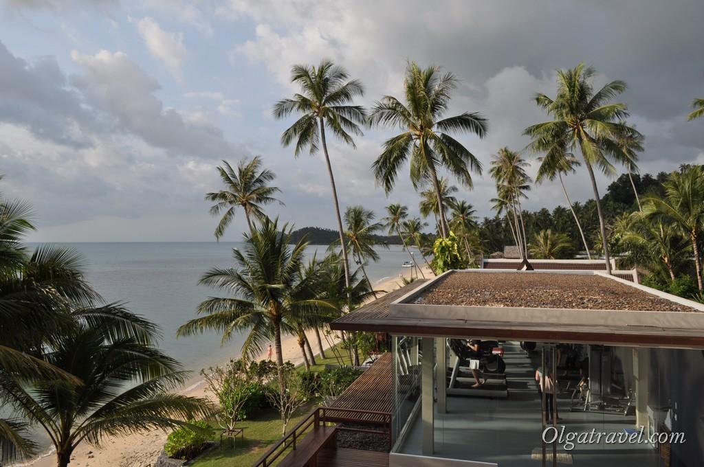 Спорт зал в отеле Интерконтиненталь на пляже Талинг Нгам