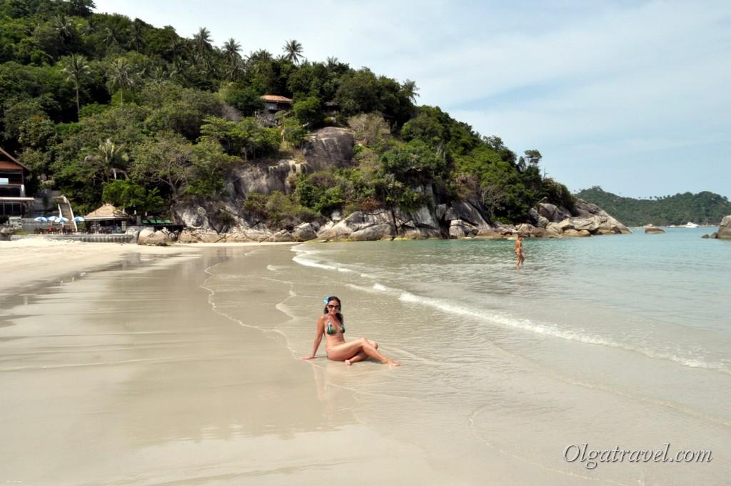 Прекрасный пляж Тонг Най Пан Яй возле отеля