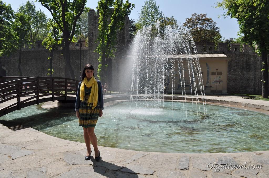 фонтан Гюльхане парк