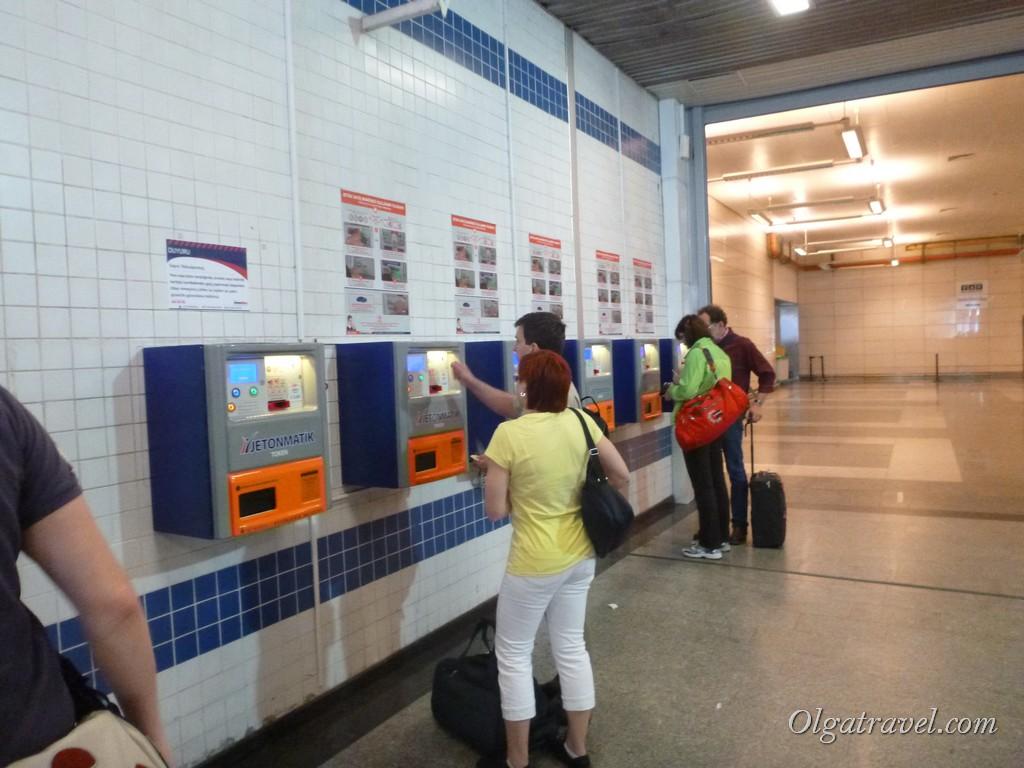 автоматы по продаже жетонов Стамбул