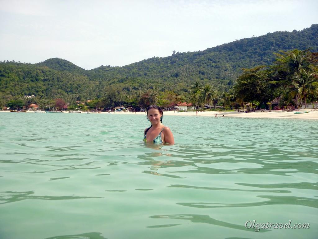 Вид на пляж Тонг Най Пан Яй с воды
