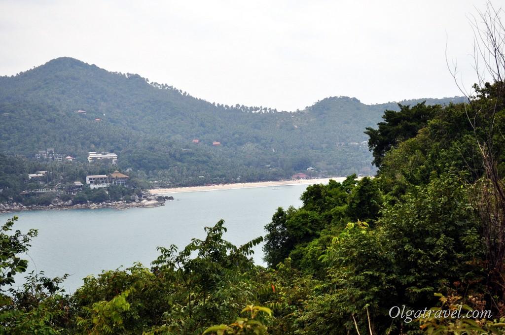 Вид на пляж Тонг Най Пан Ной с View Point