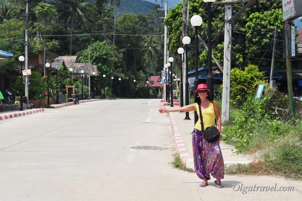 Thong Nai Pan road 6