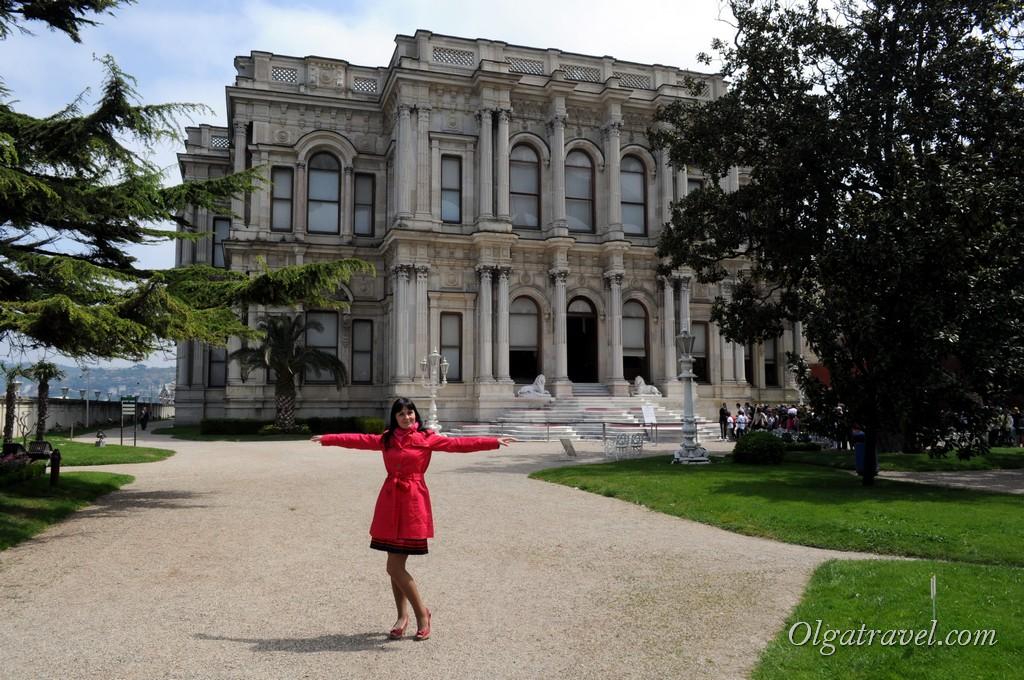 Beylerbeyi Palace garden 4