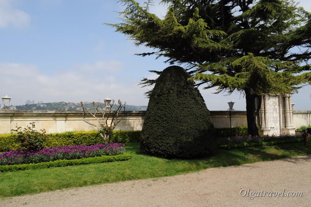 Beylerbeyi Palace garden 7