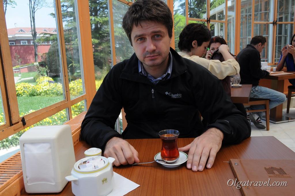 Вкусный турецкий чай
