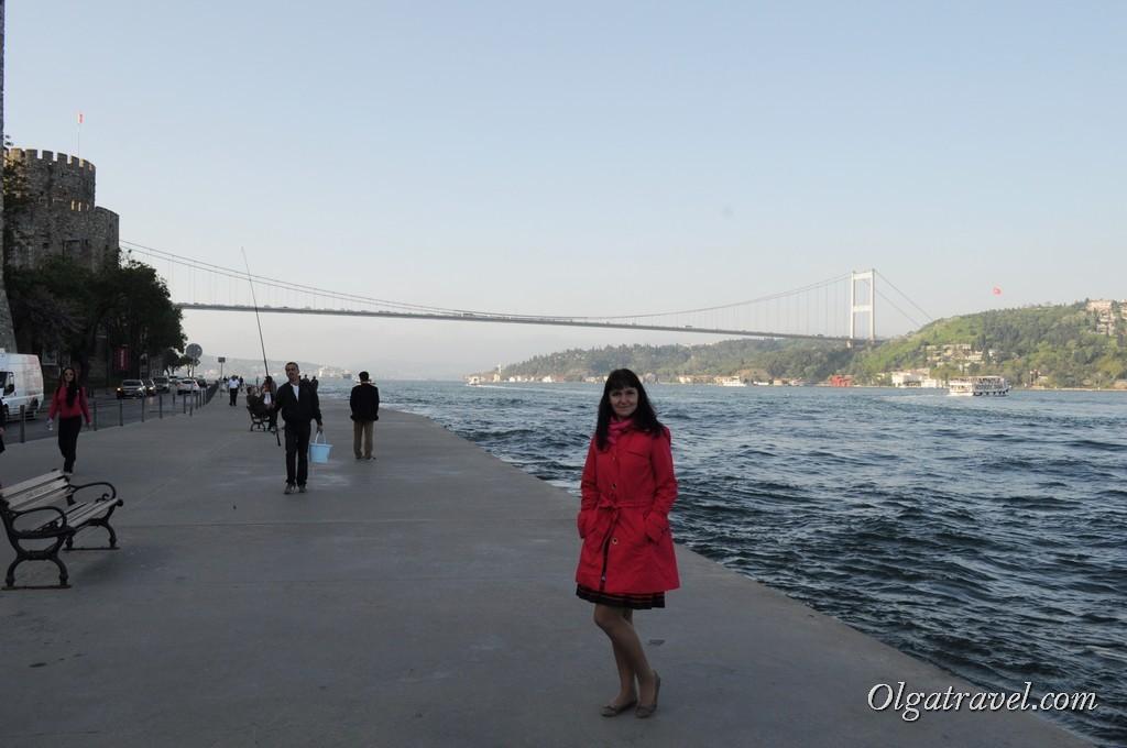 Идем по набережной вдоль Босфора в сторону района Bebek