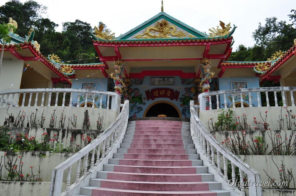 Основное здание Китайского храма
