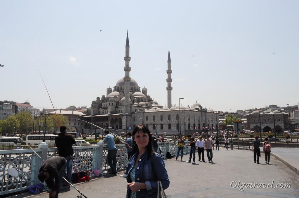 Галатский мост Новая мечеть