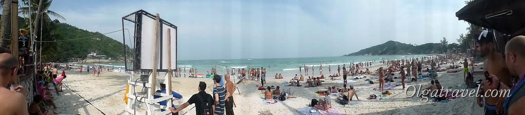 Haad Rin beach 2