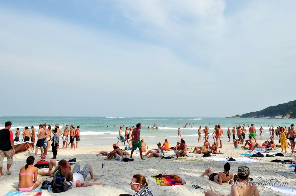 Haad Rin beach 4